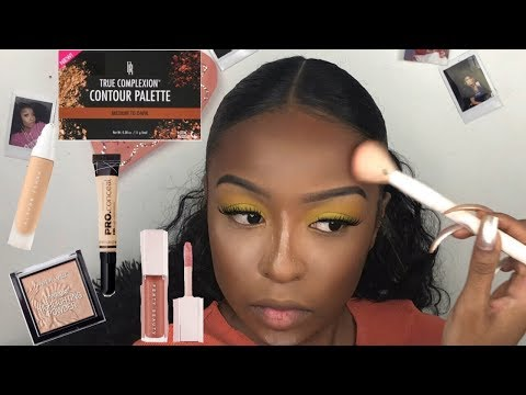 Step-by-Step Beginner Makeup Tutorial | Makeup for Black Women | Lovevinni_