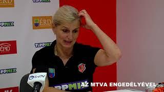 ÉRD - Alba Fehérvár KC (K&H Liga, 7. forduló) sajtótájékoztató