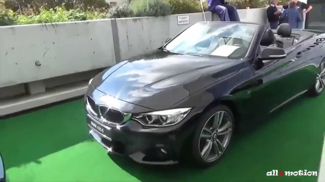 bmw 420d 4 series convertible m package 4er cabrio autoshow leonberg 2014 youtube. Black Bedroom Furniture Sets. Home Design Ideas