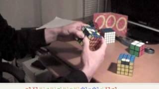 Как собрать Кубик Рубика 4х4х4.Часть 3. Паритеты