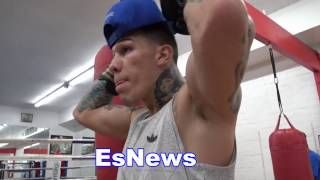 Gabe Rosado On GGG vs Jacobs - ggg hits like a middleweight EsNews Boxing