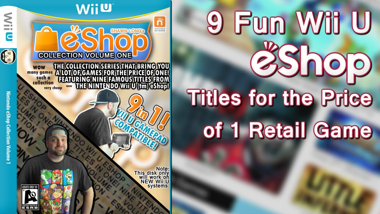 Out For Wii U Games : Fun wii u eshop games for the price of retail game