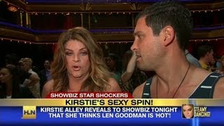 Kirstie Alley's sexy spin on 'Dancing with the ...