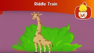 Riddle Train 5, for kids - Fun educational animation