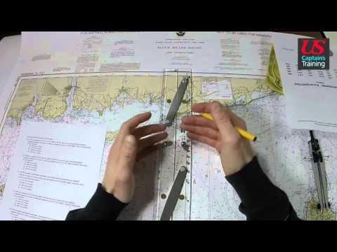 Captain License Chart Navigation – Set and Drift Practice Problem 2