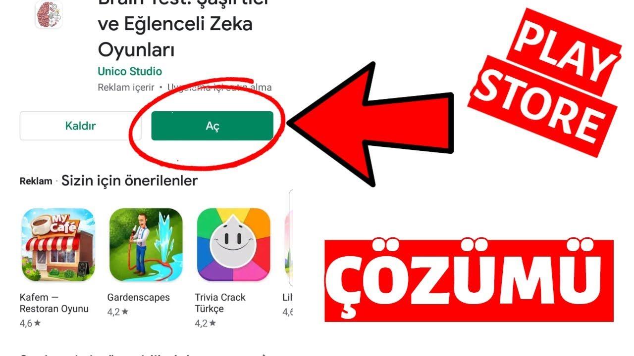 Google Play Store İndirme Bekleniyor - Hatası Çözümü! 2020