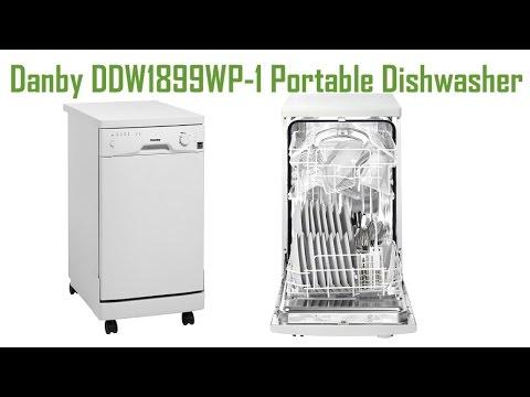Danby Portable Dishwasher   Danby DDW1899WP 1 Portable Dishwasher
