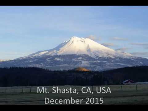 Beautiful Mt Shasta Trip (CA, USA) - December 2015