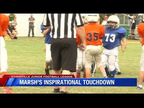 Team Rallies Around 8-Yr-Old With Muscular Dystrophy To Help Him Score 1st Touchdown.