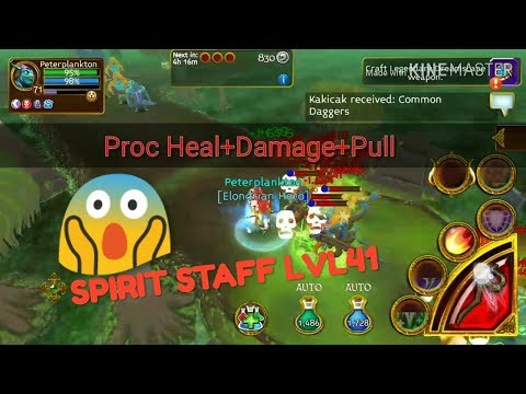 ARCANE LEGEND! SPIRIT STAFF PROC TEST #SKINCRAKERS