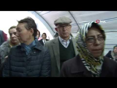 Büyükelçilerden evlat nöbetindeki ailelere ziyaret