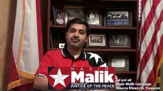 Nasir Malik - Republican for Justice of the Peace - Precinct 4 Place 2 - ACM
