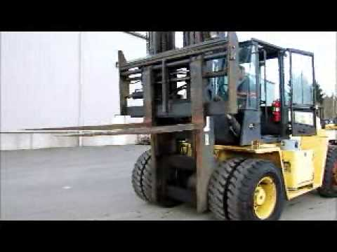 Sold! Hyster H230XL Forklift 23,000 LB Capacity Lift Truck 72