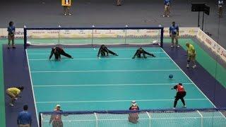 Спорт инвалидов.Тренировка по Голболу