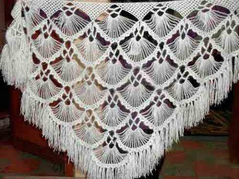 Crochet Shawl Free Simplicity Patterns152 Youtube