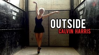 Calvin Harris Outside Ft. Ellie Goulding Dsharp Violin Cover