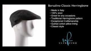 Borsalino Doria Exclusive Classic Herringbone Ivy Cap