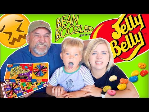 DISGUSTING BEAN BOOZLED CHALLENGE! 😖 (W/ MY DAD AND OLLIE!) // SoCassie