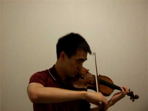 Me playing Itzhak Perlman's rendition of Gardel's
