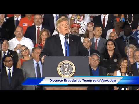 Trump reconoce el sacrificio de Óscar Pérez por Venezuela y abraza a su madre
