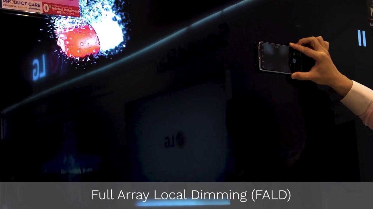 LG Super UHD TV Full Array Local Dimming