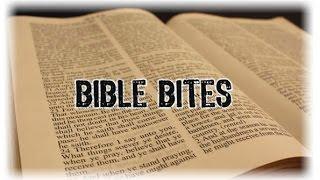 Bible Bites 10:Tattoos