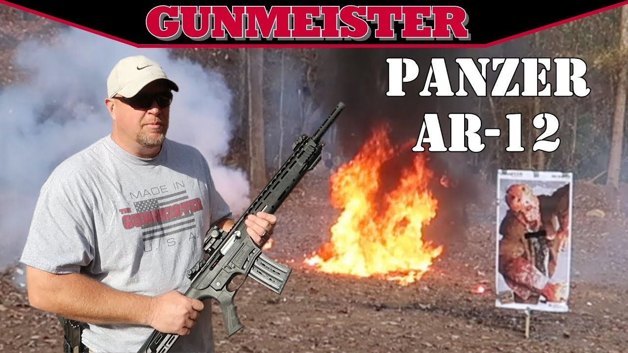 Panzer AR Twelve Shotgun | Best Tactical AR-12 Shotgun? #1