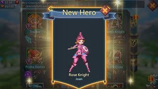 Lords Mobile Elite 6-12- Completed with 3 stars (chance to farm Rose Knight)