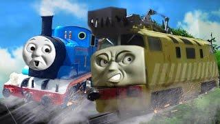 thomas and the magic railroad chase scene pt boomer oo ho remake