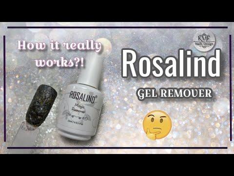 Nail Gel Polish Remover by Rosalind / YOU WON'T BELIEVE IT!!!!