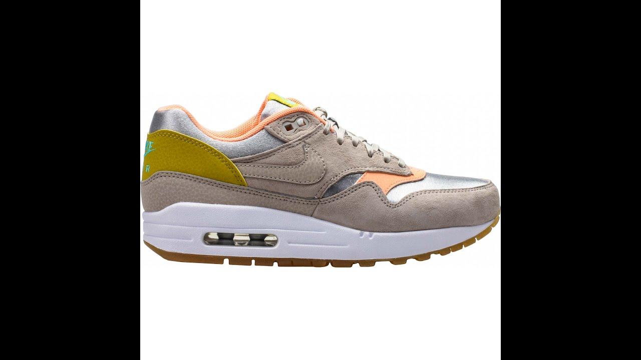 20150809 NIKE 2015 Q3 Women AIR MAX 1 Premium Fashion Sneaker 454746-006 -  YouTube