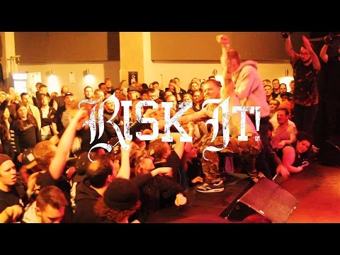 RISK IT - GONE TO WASTE LAST SHOW - FULL SET - OBERHAUSEN, GERMANY - 04.03.17