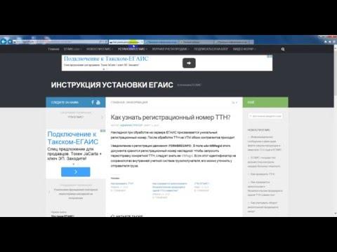 видео: Статус накладной ТТН (ЕГАИС)