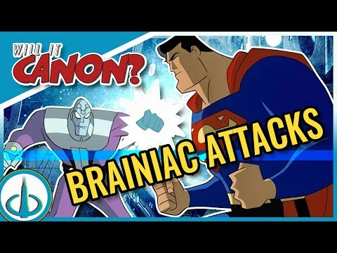 """SUPERMAN: BRAINIAC ATTACKS"" - Does it Connect to ""Superman: the Animated Series""? 
