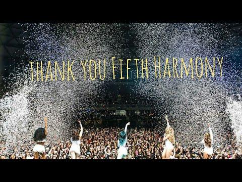 Thank You Fifth Harmony : HISTORY