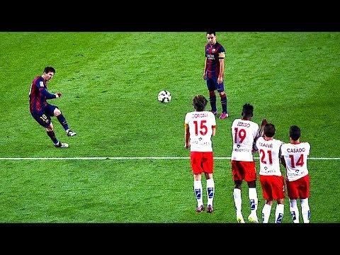 Leo Messi - 39 Bramek z Rzutów Wolnych ᴴᴰ(PL KOMENTARZ)