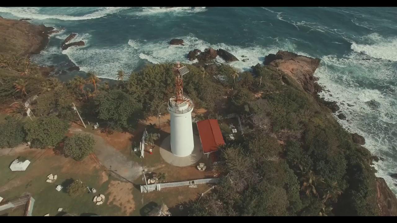 Dji Phantom 2 >> Galera Point, Toco Lighthouse, Trinidad and Tobago - YouTube
