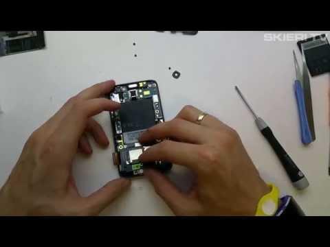HTC HD7 - wymiana wyświetlacza LCD - Disassembly - digitizer