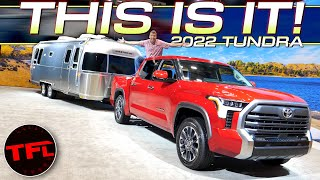 BREAKING NEWS: 2022 Toyota Tundra Loses the V8 & Gets These Unique Engine Options!