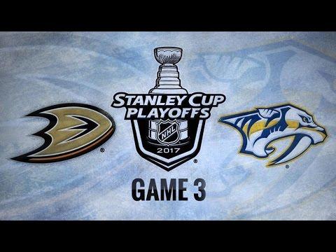 Anaheim Ducks Vs. Nashville Predators Game 3   NHL Game Recap   May 16, 2017   HD