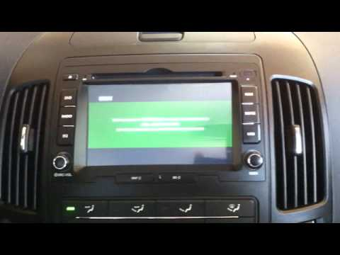 2010 Hyundai Elantra Touring I30 In Dash Nav Dvd Unit