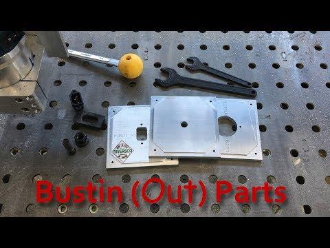 Milling Aluminum on DIY CNC Router