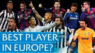 Messi, Neymar, Ronaldo? UEFA Best Player in Europe contenders