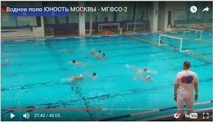 Водное поло ЮНОСТЬ МОСКВЫ - МГФСО 2