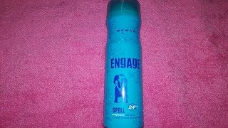 Engage women deo spell honest review engage spell deo review- body deodrant