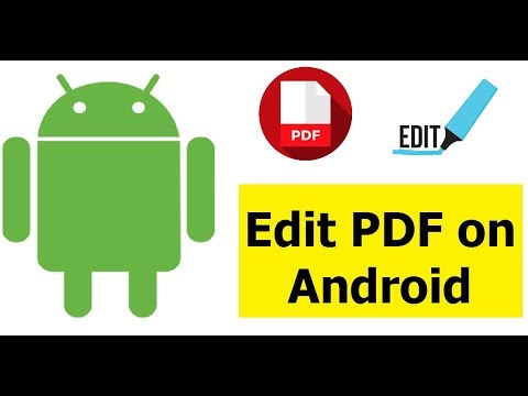 How To Edit PDF File On Android Using Adobe Fill & Sign Android App