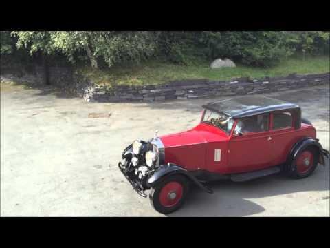 1932 Rolls-Royce 20/25 William Arnold Two Door Coupe.