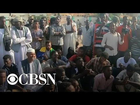 Protesters still on the streets in Sudan after president's ouster