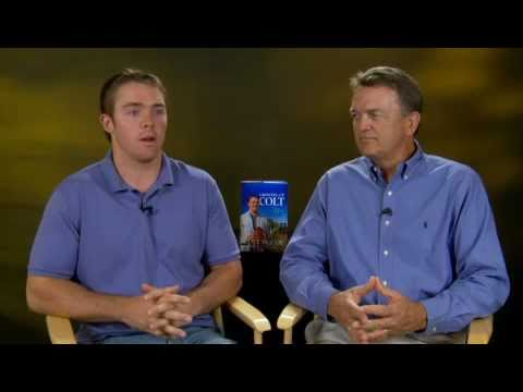 Colt McCoy and His Father Brad Discuss Growing Up Colt