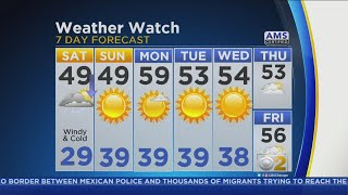 CBS 2 Weather Watch Forecast, Oct. 20, 2018 8 AM